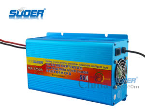 Suoer Fast Battery Charger 50A Four-Phase Charging Mode 12V Battery Charger (MA-1250A) pictures & photos