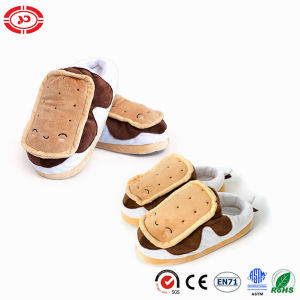 Kids Plush Slipper Soft Warm Cute CE Stuffed Shoe pictures & photos