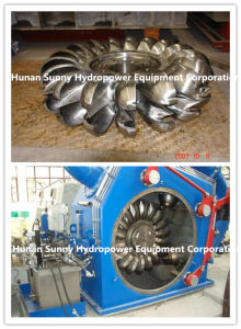 Hydro (water) Pelton Turbine-Generator 1-5MW/ Water Power Alternator/ Hydropower / Hydroturbine pictures & photos
