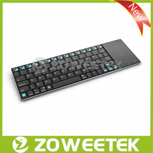 Zoweetek-Mutilmedia USB Wireless Keyboard with Touchpad for Tablet, Android TV, Google TV