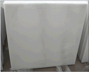 Pure Crystal White Marble Cut to Size Tile pictures & photos