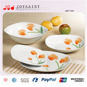 Hot Sale Squared Ceramic Dinnerware (SD116-S017) pictures & photos