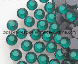 Free Sample China Hotfix Rhinestone for Wholesale (ss10 Emerald/A Grade) pictures & photos