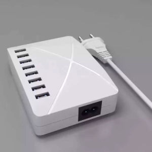 8 USB Smart Charger 10000mA Fast Charging Phone Charger pictures & photos