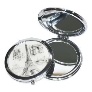 Customized Cosmetic High Quality Makeup Compact Pocket Mirror pictures & photos