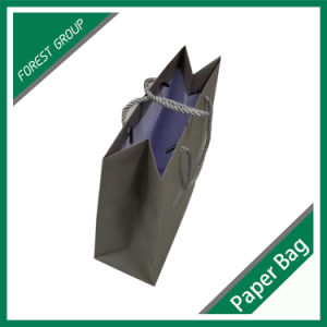 Grey Color Paper Shopping Bag in Shanghai pictures & photos