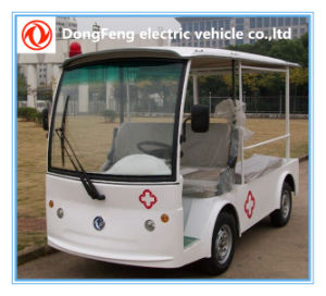 Hospital 2 Passengers Electric Ambulance Car for Sale