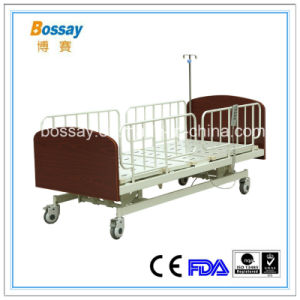 Three Functions Electric Nursing Bed Nursing Home Care Bed pictures & photos