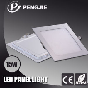 Die Casting Aluminum 15W Square LED Panel Light pictures & photos