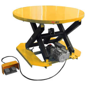 Electric Rotating Lift Table pictures & photos