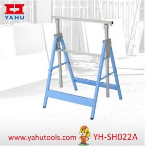 Height Adjustable Cheap Universal Tool Sawhorse Folding Trestles (YH-SH022A) pictures & photos