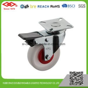 White Plastic Instrumental Caster (P110-30E050X20) pictures & photos