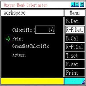 Oxygen Bomb Calorimeter-Coal Ash Testing Machine-Laboratory Instrument Calorimeter pictures & photos