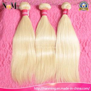 European Russian Blonde Human Hair / Keratin Straight Russian Hair pictures & photos