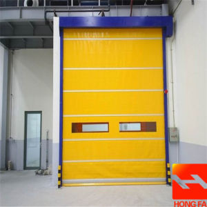 Electric High Speed Roll up Door for Clean Room (HF-K394) pictures & photos