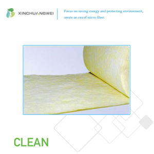 Glass Microfiber Air-Laid Filter Thermal Resistance Pocket pictures & photos