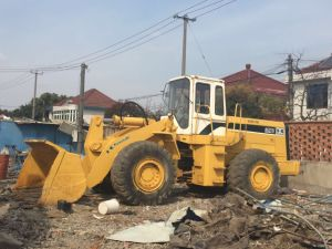 Japan Original Used Kawasaki 85z Wheel Loader for Sale pictures & photos