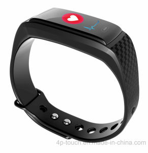 Waterproof IP67 Colorful Screen GPS Smart Bracelet with Heart Rate K17s pictures & photos