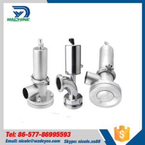 Pneumatic Sanitary Stainless Steel Tank Bottom Seat Valve pictures & photos