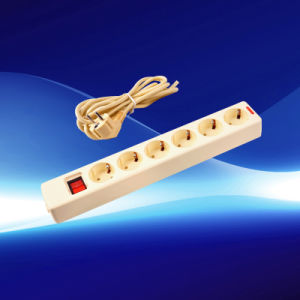 Power Strip Gang Sockets with The Switch (YW5011-K-B-A) pictures & photos