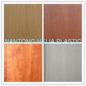 Wood Grain Lamination Wood Grain Color PVC Membrane Foil pictures & photos