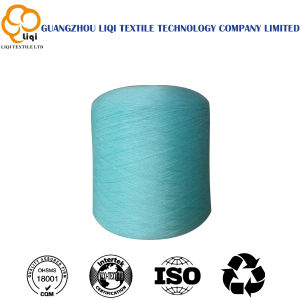 40s/2/3 High Tenacity Spun Polyester Sewing Thread in Dyed Colors and Raw White Colors pictures & photos
