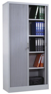 Steel Roller Door Storage Cabinet for Office pictures & photos