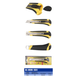 18mm Steel Blade Cutter Knife Plastic Utility Knife pictures & photos