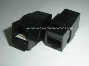 CAT6A UTP 180 Degree Coupler pictures & photos