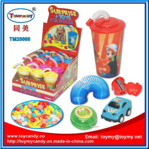Summer Toys Water Cup with Surprise Toy and Candy