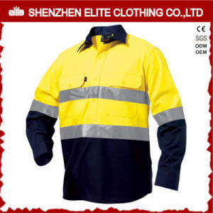 China Wholesale 3m Reflective High Visibility Button Shirts pictures & photos