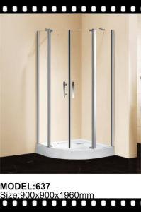 Stainless Steel Frame Sliding Shower Glass Door Shower Enclosure