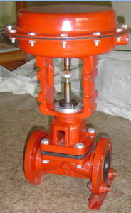 Cast Steel Wcb Pneumatic Diaphragm Valve pictures & photos