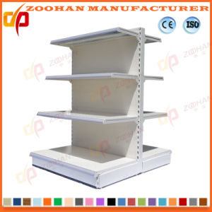 Metal Double Side Supermarket Display Shelf (ZHs644) pictures & photos