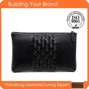 New Design Wholesale Genuine Leather Clutch Men Bag pictures & photos