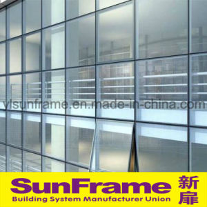 Aluminium United Glazing Curtain Wall System pictures & photos