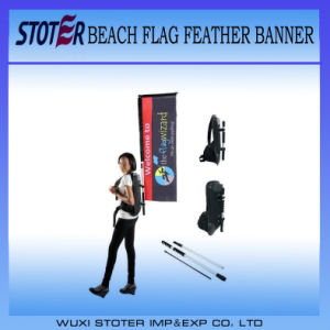 High Quality Walking Rectangle Backpack Flag/Banner pictures & photos