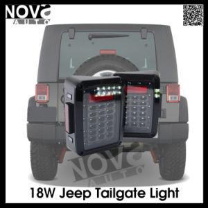 Pair 07-15 Us Jeep Wrangler Jk LED Brake Tail Lights Rear Signal Reverse