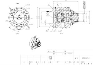 Gear Shaft Lathe Hydraulic Workholding pictures & photos