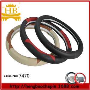 Hot-Selling Cheap Genuine Leather Car Steering Wheel Cover