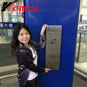 Knzd-16 Emergency Telephone for Metro Airport Bus Station pictures & photos