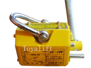 Manual Permanent Magnet Lifter 100kg with Ce