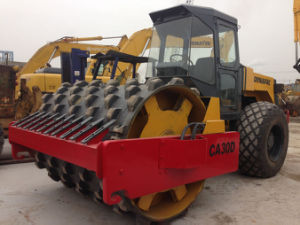 Used Dynapac Road Roller Ca30, Vibratory Roller with Padfoot (sheep-foot) pictures & photos