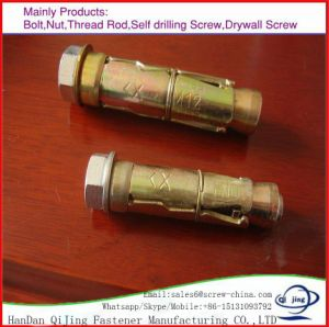 Fix Bolts Ground Expansion Earth Heavy Duty Shield Anchor pictures & photos