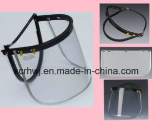 Protective Face Mask, PC/PVC Faceshield Visor, Face Shield Visor for Safety Helmet, PVC Face Shield Visor, PC Face Shield Visor, Pet Green Faceshield Visor