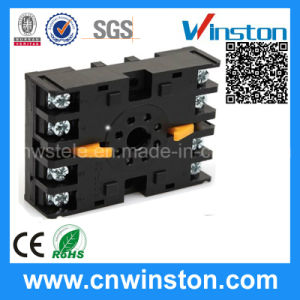 P2CF-08 Car Ceramic Electric Rail Solid State Relay Socket pictures & photos