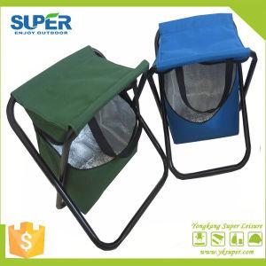 Metal Folding Stool with Cooler Bag (SP-105) pictures & photos