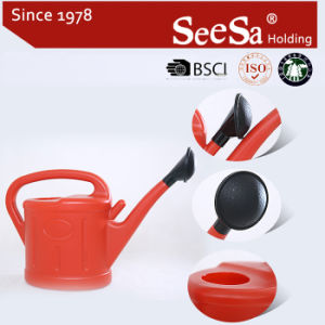 3L Plastic Garden Household Home Watering Can with Spout (SX-609-30) pictures & photos