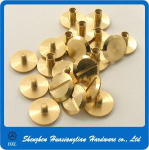 China Manufacture Decorative Brass Rivets for Leather pictures & photos