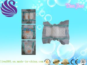 OEM Disposable Baby Nappy with Super-Care pictures & photos